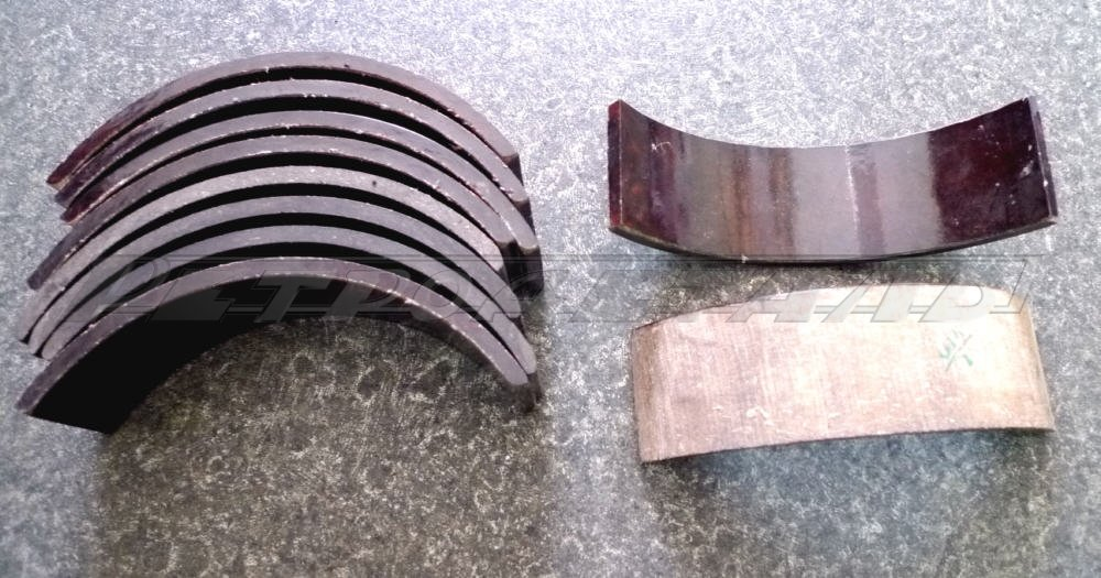 Cover plates for GAZ-21 handbrake