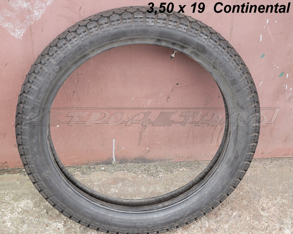 Tires for motorcycles 3.50-19 K102 Continental