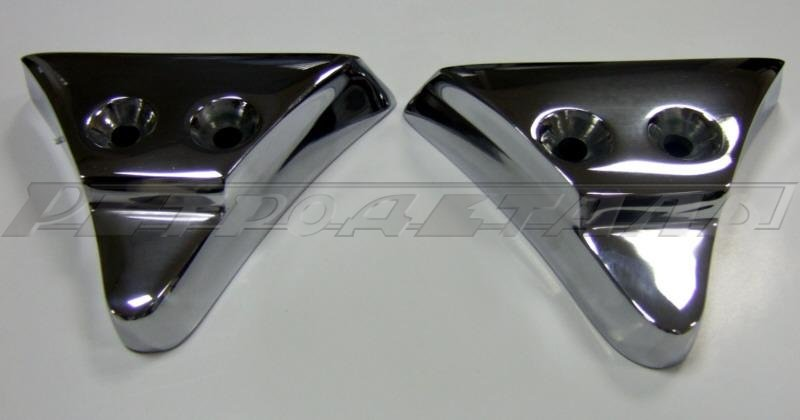 Triangles lower moldings GAZ-21