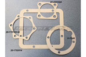 Set of gaskets for the repair of gearbox GAZ-M20, GAZ-21, GAZ-69