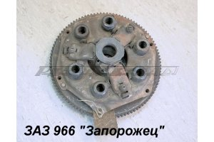 ZAZ-966 clutch casing with flywheel
