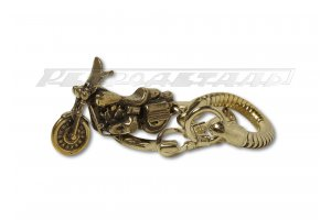 Bronze Key Chains Motorcycles