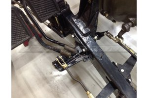Spring retraction brake pedals GAZ-67, GAZ-AAA