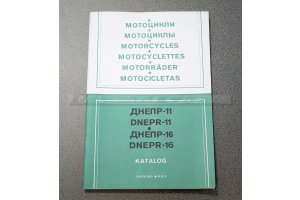 Catalog of motorcycle parts Dnepr-11, Dnepr-16, 1993