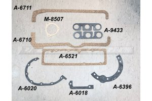 Set of gaskets for engines GAZ-M1, GAZ-AA, GAZ-MM, GAZ-67