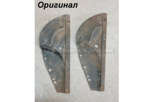 Splash guards front wings GAZ-21
