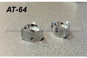 Chrome AT-64 receiver knobs