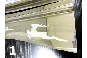 Door sills GAZ-21 tuning