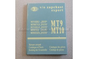 Parts Catalog Motorcycle Dnepr MT9, MT10