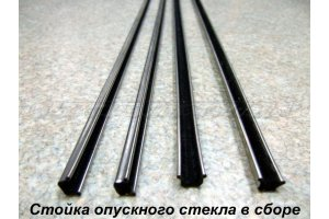 Inserts in the rack lowering glasses GAZ-14, GAZ-21, GAZ-24, Moskvich, ZAZ