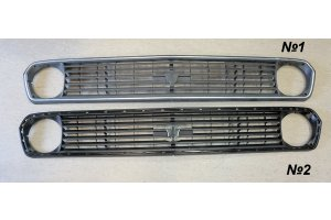 Facing radiator GAZ-24-10