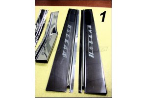 Door sills GAZ-M20 tuning
