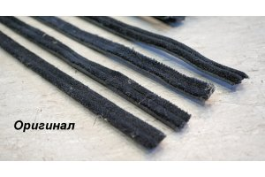 Velvet hoses of lowering glasses GAZ-21, ZAZ, Moskvich
