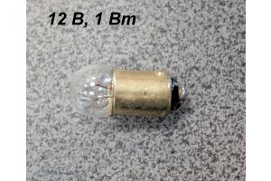 Dashboard lamp with 9 mm base