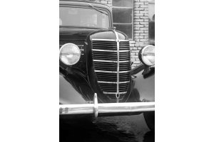 GAZ-M11-73 radiator trim moldings