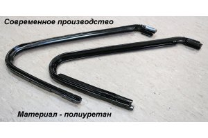 GAZ-21 front door window seals