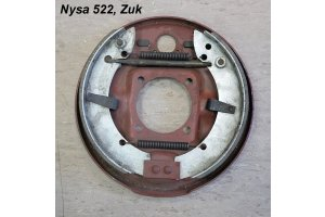 Rear brake panels, with brake drums for Nysa 522, Zuk