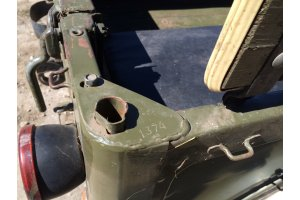Angle plug for body number for GAZ-69