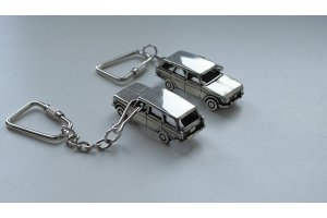 Miniculture of cars from nickel silver on a scale of 1: 100