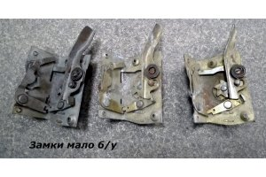 Mechanisms of GAZ-21 Volga door locks