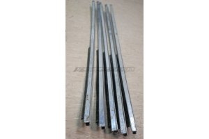 Rack lowering glass GAZ-24