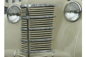 Horizontal moldings grille Moskvich-400, Moskvich-401