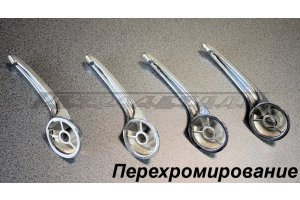 Internal handles for opening doors GAZ-21