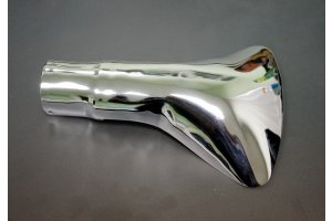 Visor exhaust pipe silencer GAZ-21