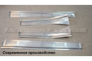 Door sills GAZ-21, imitation of the original