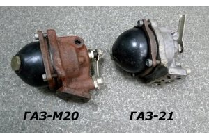 Oil filter of rough cleaning GAZ-M20, GAZ-69