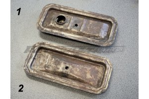 Cover of a box of pushers GAZ-M20, GAZ-21