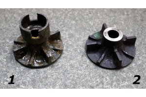 Impeller of a water pump GAZ-12, GAZ-M20, GAZ-21, GAZ-51, GAZ-69, UAZ