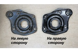 Supporting cup spring front suspension GAZ-24
