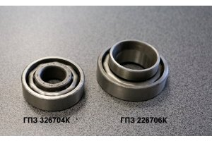Front wheel hub bearings Moskvich-402-408
