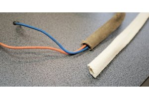 Tube protective wire