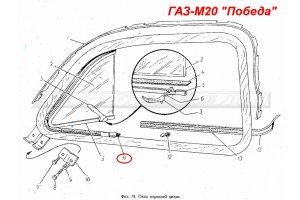 Seals for vents GAZ-M20
