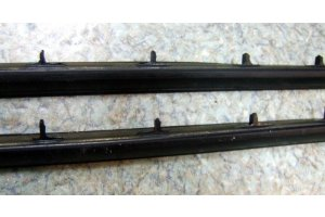 Seals for front window vents on the rack GAZ-21, ZAZ