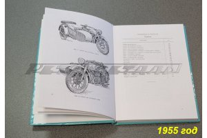 Motorcycle spare parts catalogs M-72