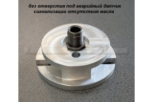 Adapter of the GAZ-21 oil filter