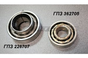 Front wheel hub bearings GAZ-12