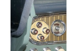 Facing the buttons of the automatic transmission mechanism GAZ-13