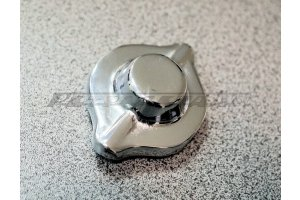 Chrome expansion tank cap