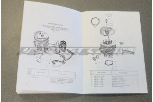Motorcycle IZH-56 Spare parts catalog, 1960